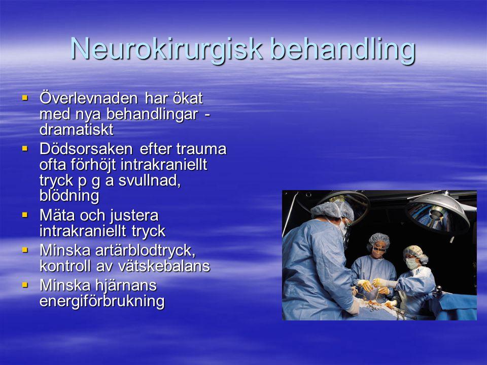 Neurokirurgisk behandling