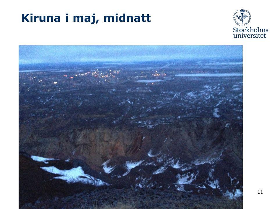 Kiruna i maj, midnatt 2017-04-072017-04-07