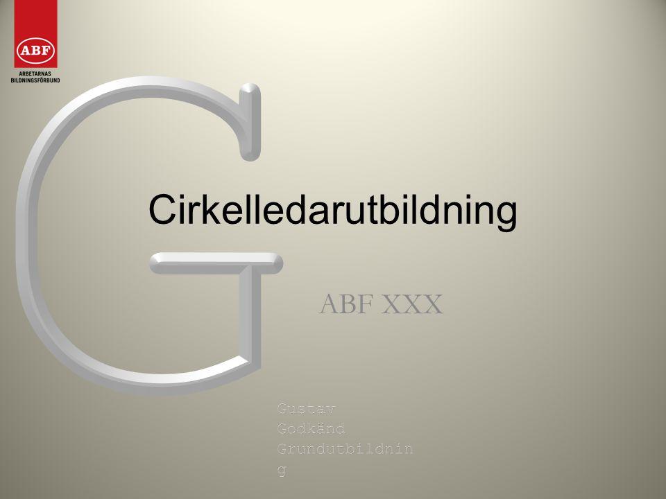 Cirkelledarutbildning