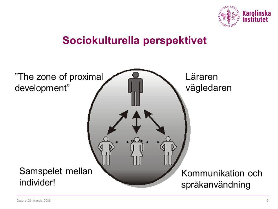 Sociokulturella perspektivet