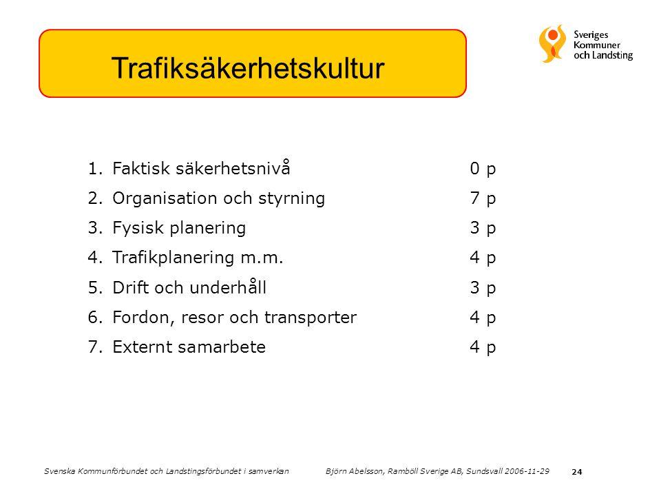 Trafiksäkerhetskultur