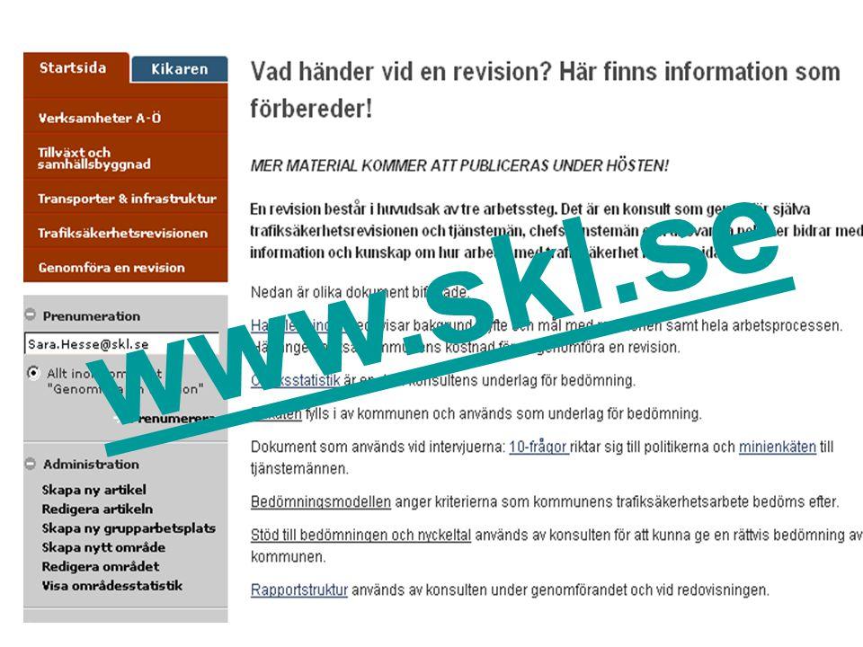 www.skl.se På webben finns alla dokument.