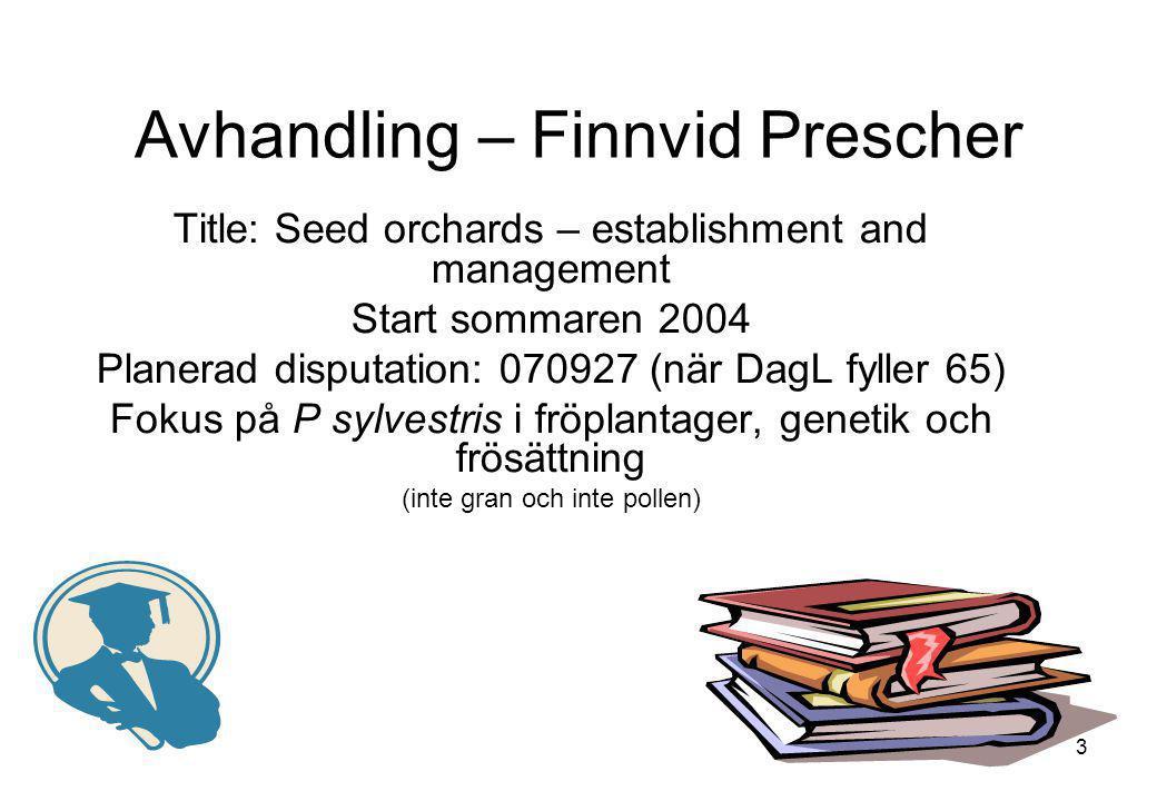 Avhandling – Finnvid Prescher