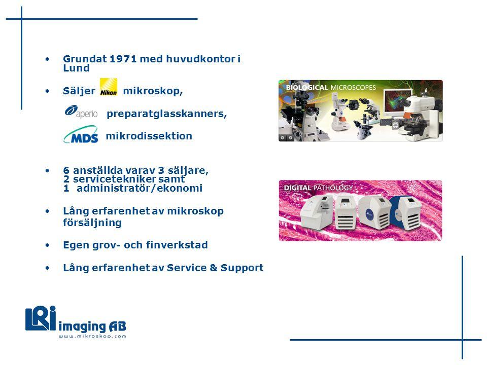 Grundat 1971 med huvudkontor i Lund