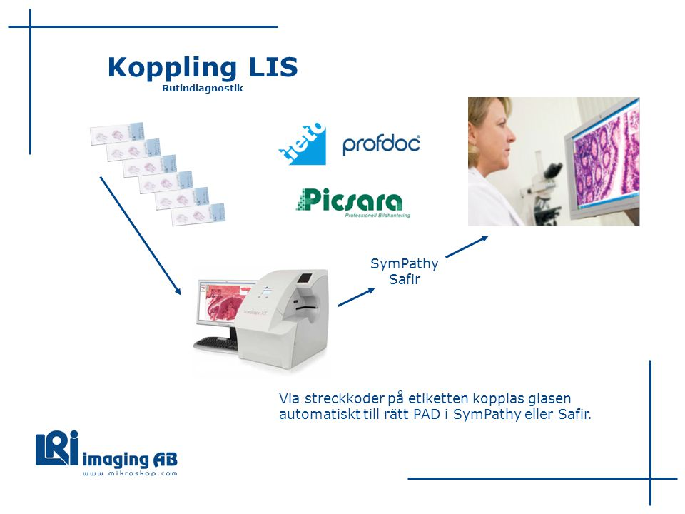Koppling LIS Rutindiagnostik