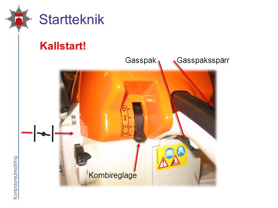 Startteknik Kallstart! Gasspak Gasspaksspärr Kombireglage 2017-04-07