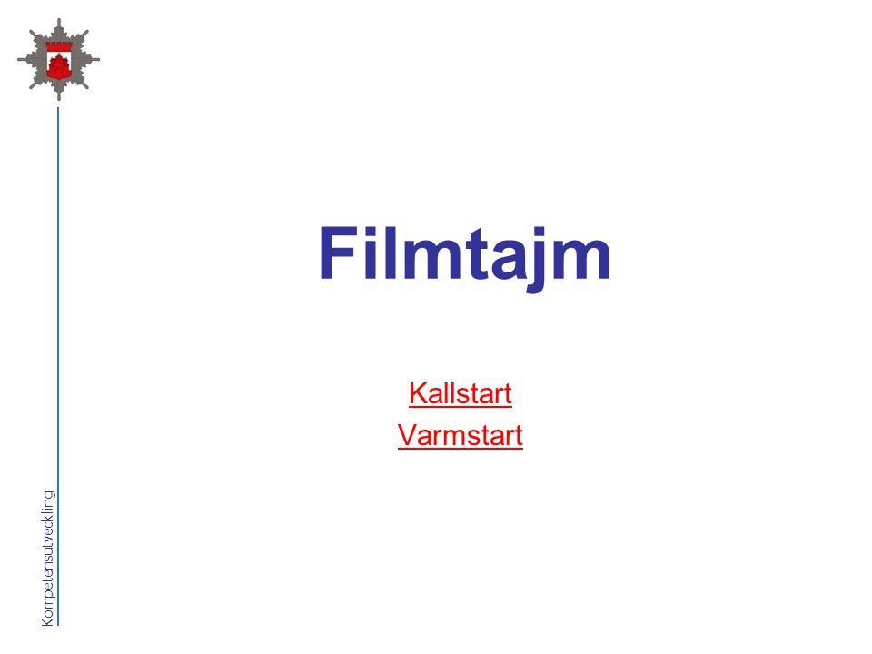 Filmtajm Kallstart Varmstart