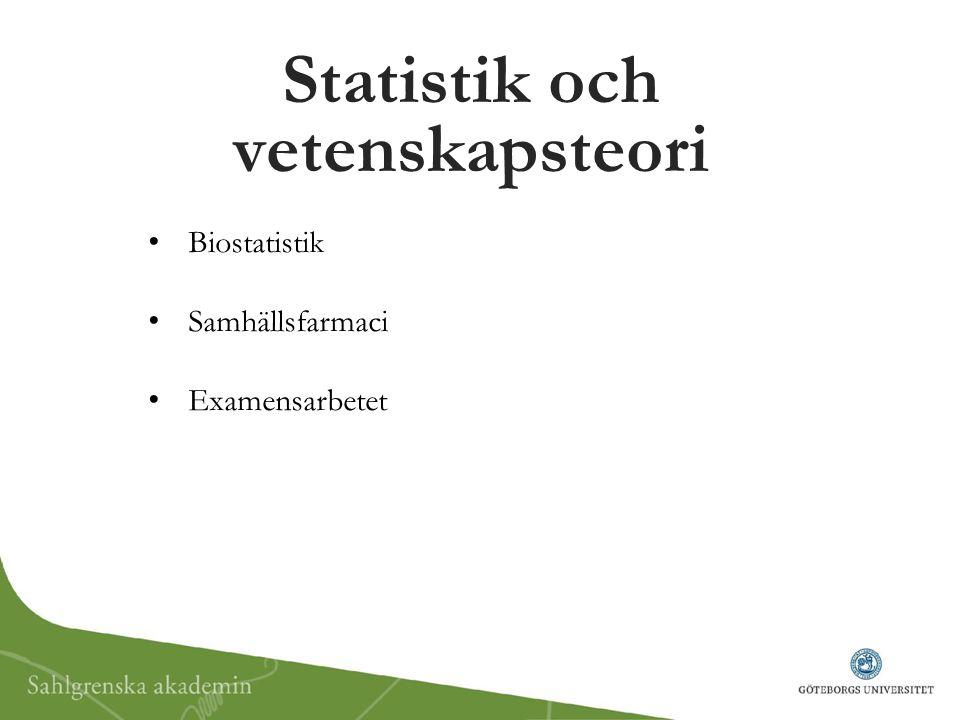 Statistik och vetenskapsteori