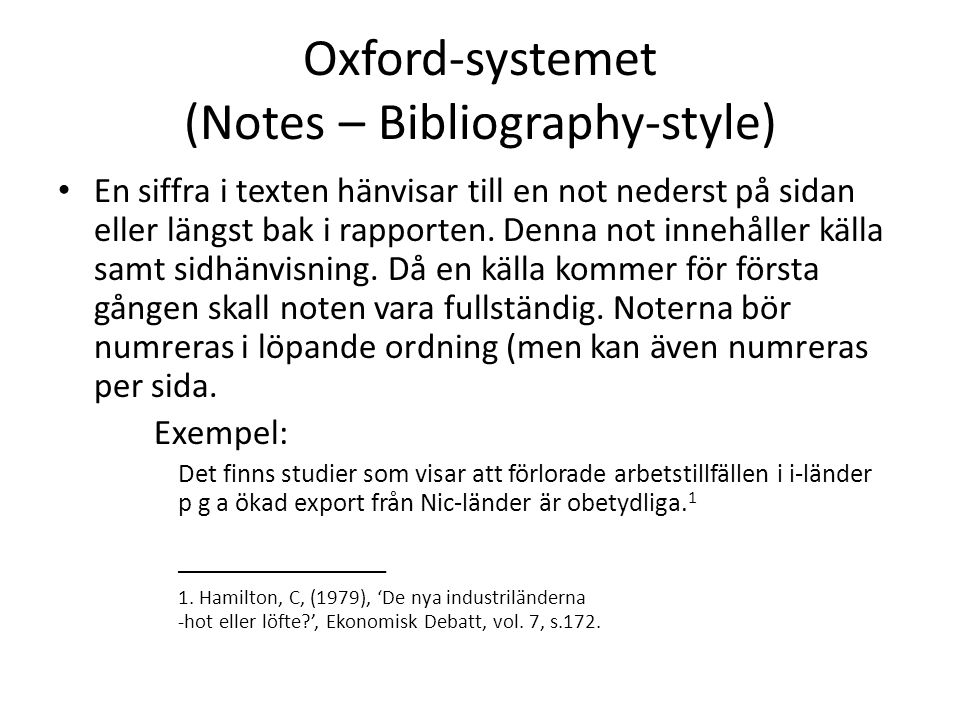 oxford style bibliography Oscola is a guide to legal citation, not a style guide for advice on punctuation, grammar and writing style although originally designed for use within oxford university, oscola is now used by law schools throughout the uk and overseas, and by a number of legal.
