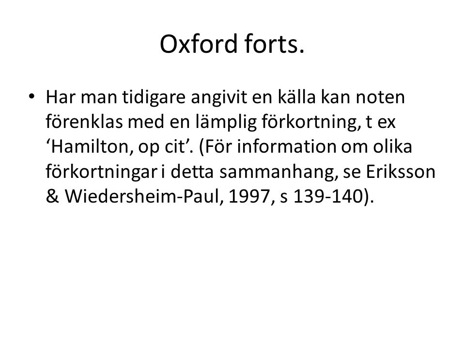 Oxford forts.