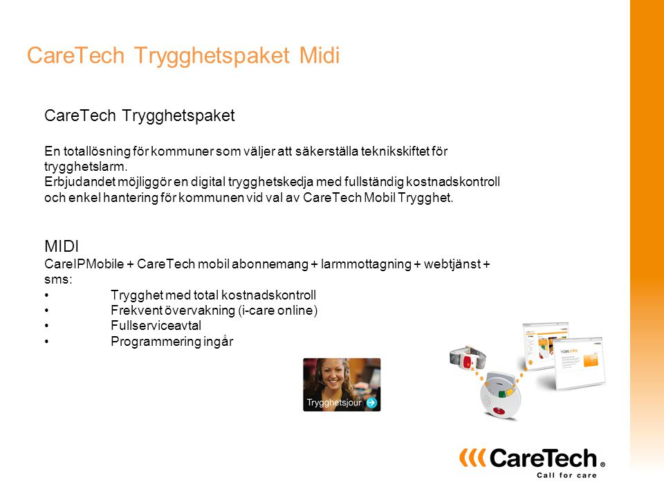 CareTech Trygghetspaket Midi