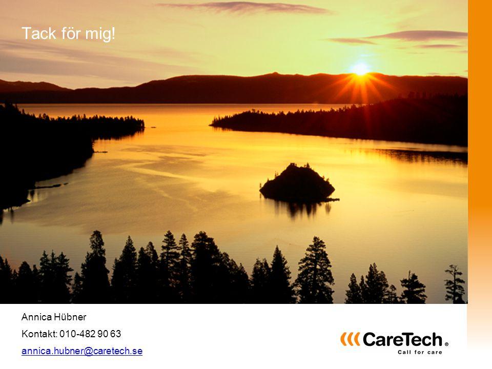 Välkommen till CareTech, välkommen till tryggheten