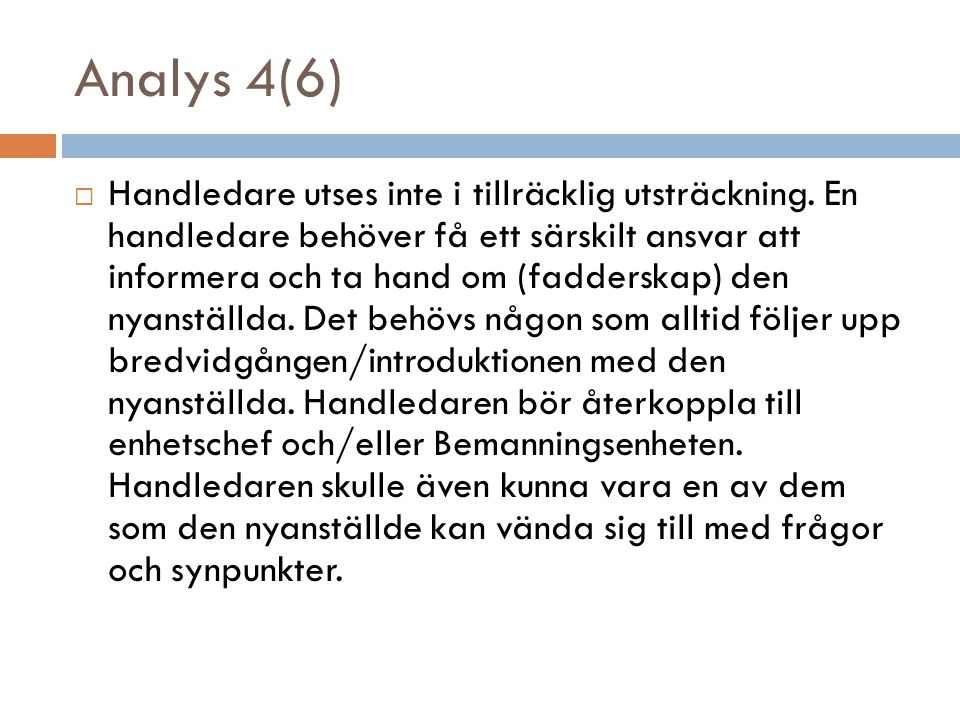 Analys 4(6)