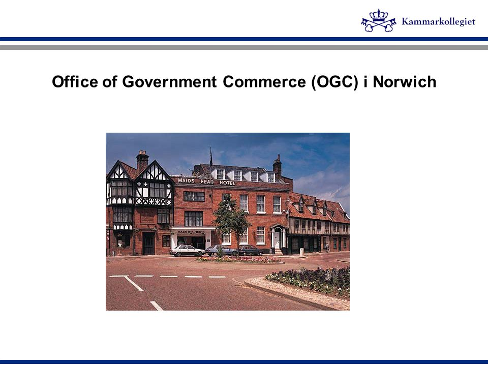 Office of Government Commerce (OGC) i Norwich