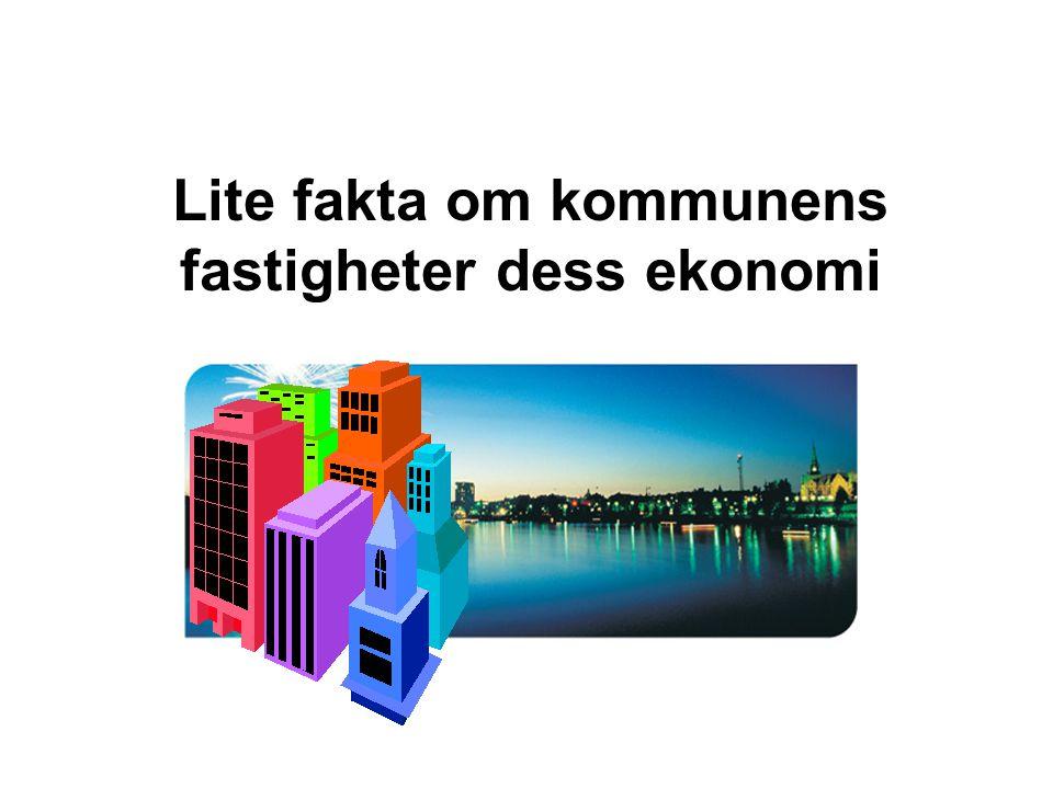 Lite fakta om kommunens fastigheter dess ekonomi