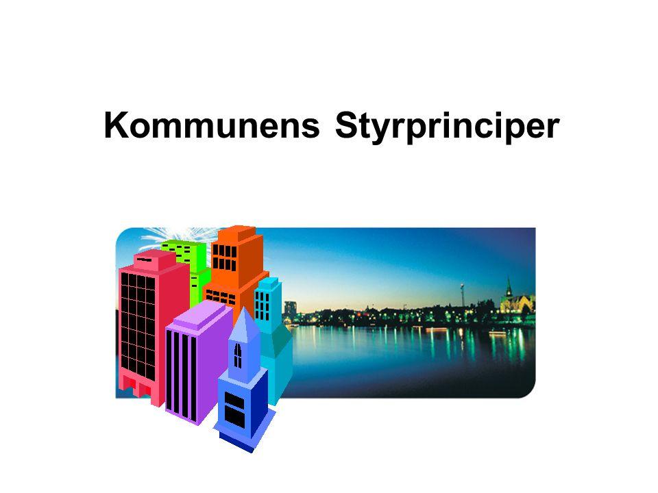 Kommunens Styrprinciper