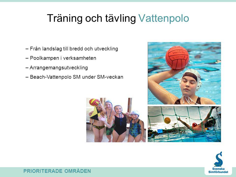 Träning och tävling Vattenpolo