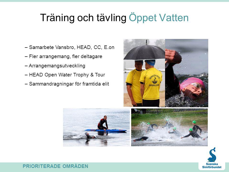 Träning och tävling Öppet Vatten