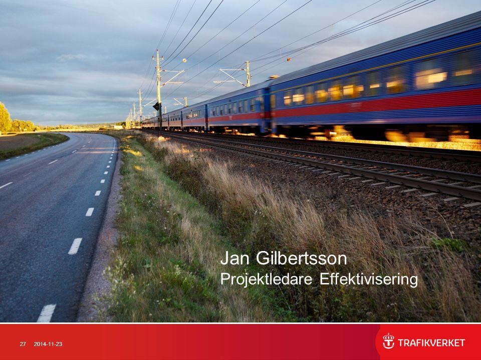 Jan Gilbertsson Projektledare Effektivisering