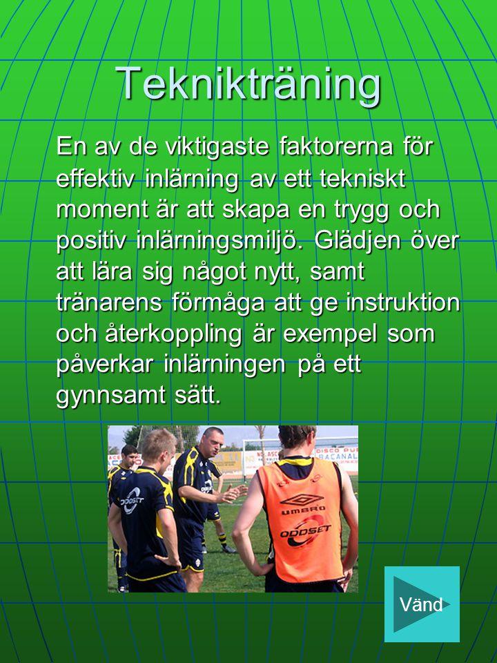 Teknikträning