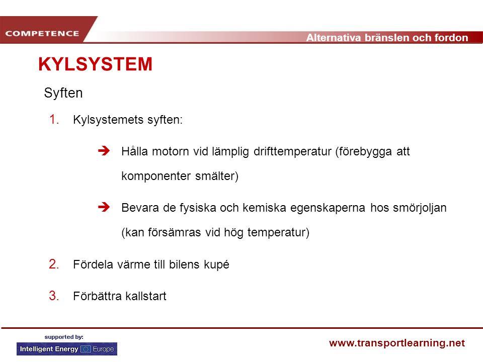 KYLSYSTEM Syften Kylsystemets syften: