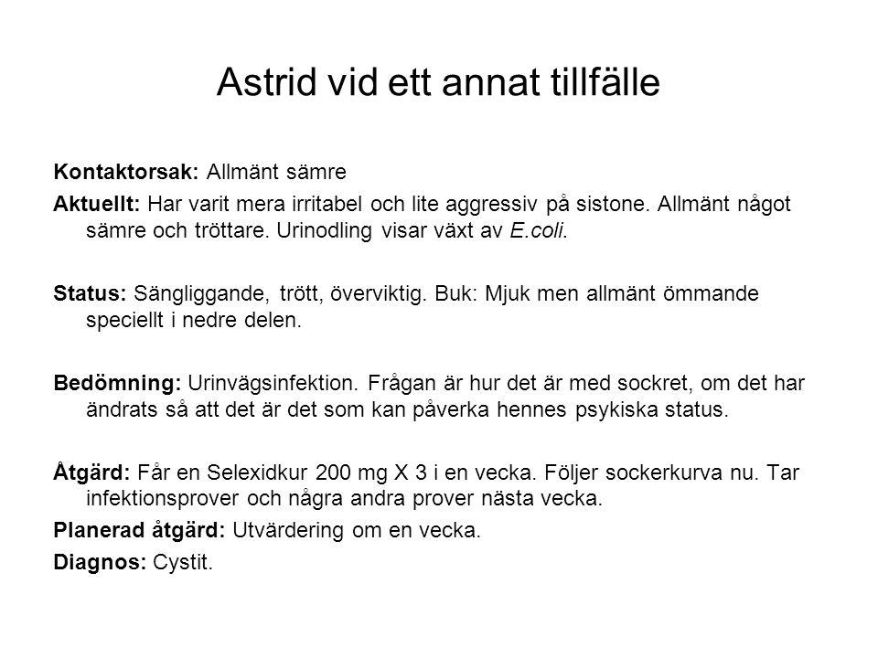 Astrid vid ett annat tillfälle