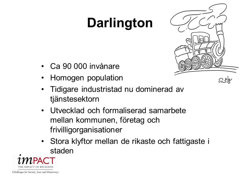 Darlington Ca 90 000 invånare Homogen population