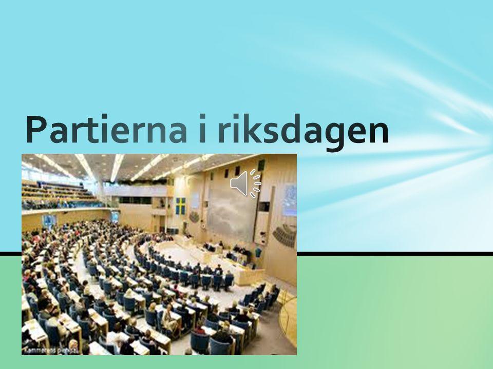 Partierna i riksdagen
