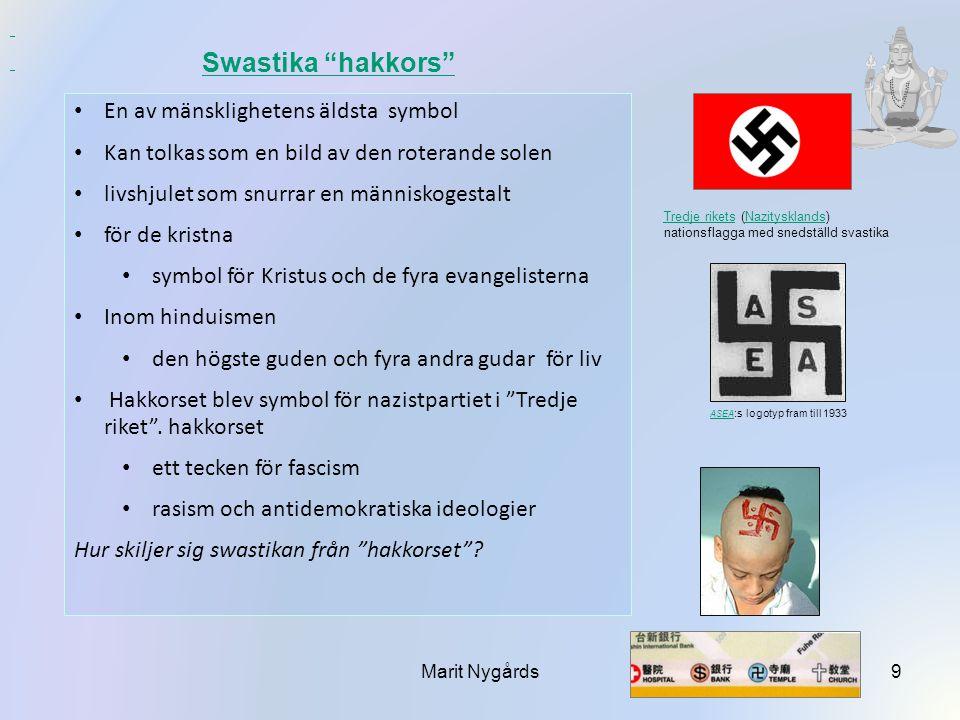 Swastika hakkors En av mänsklighetens äldsta symbol