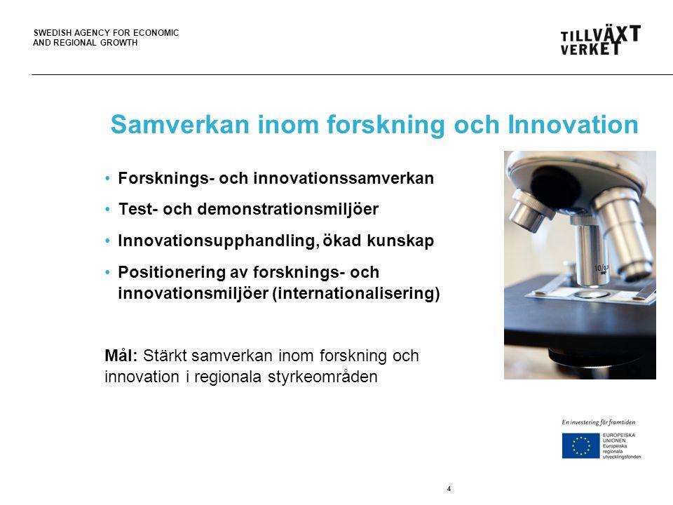 Samverkan inom forskning och Innovation