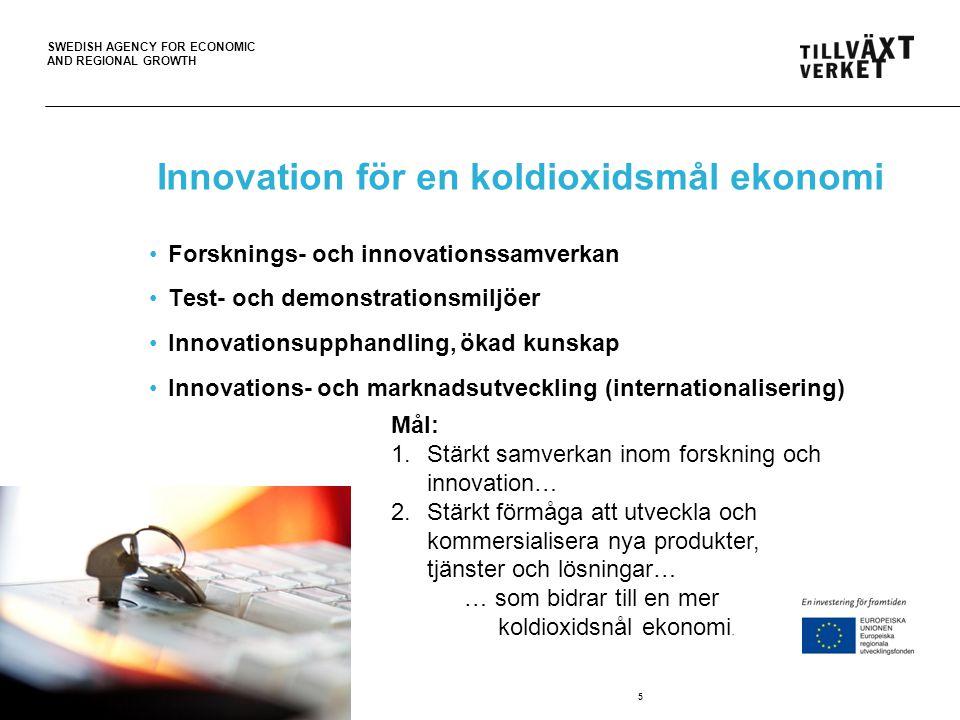 Innovation för en koldioxidsmål ekonomi