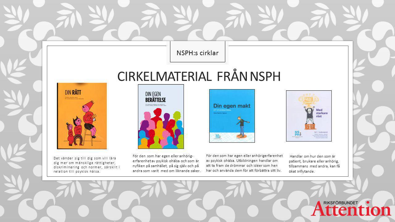 CIRKELMATERIAL från NSPH