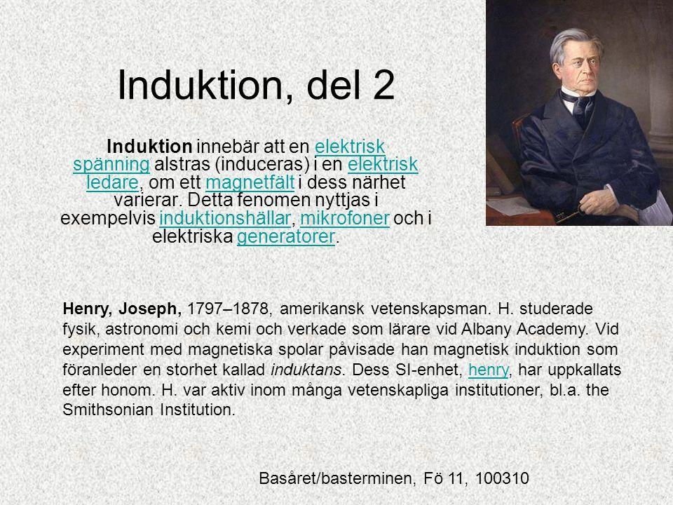 Induktion, del 2