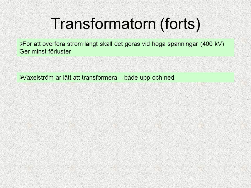 Transformatorn (forts)