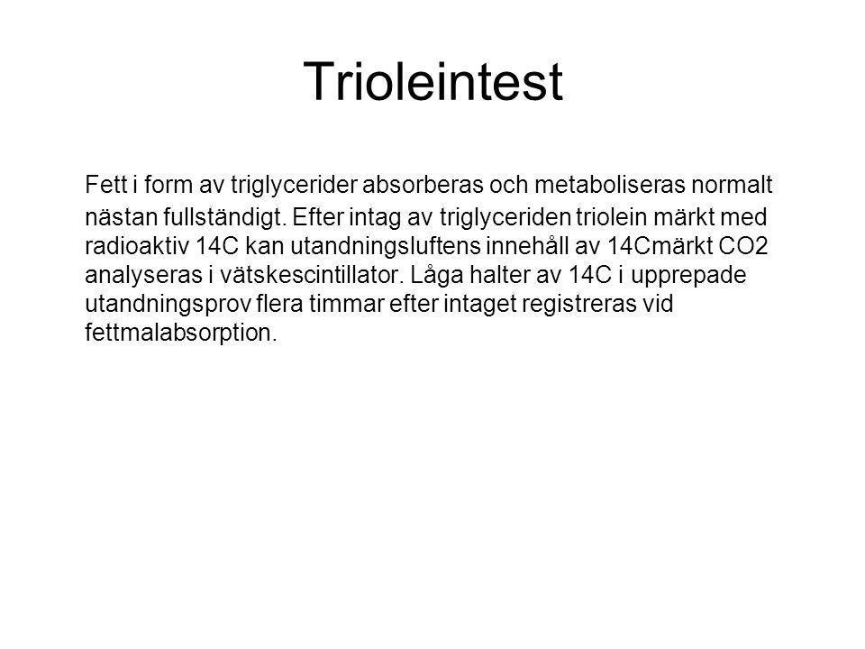 Trioleintest