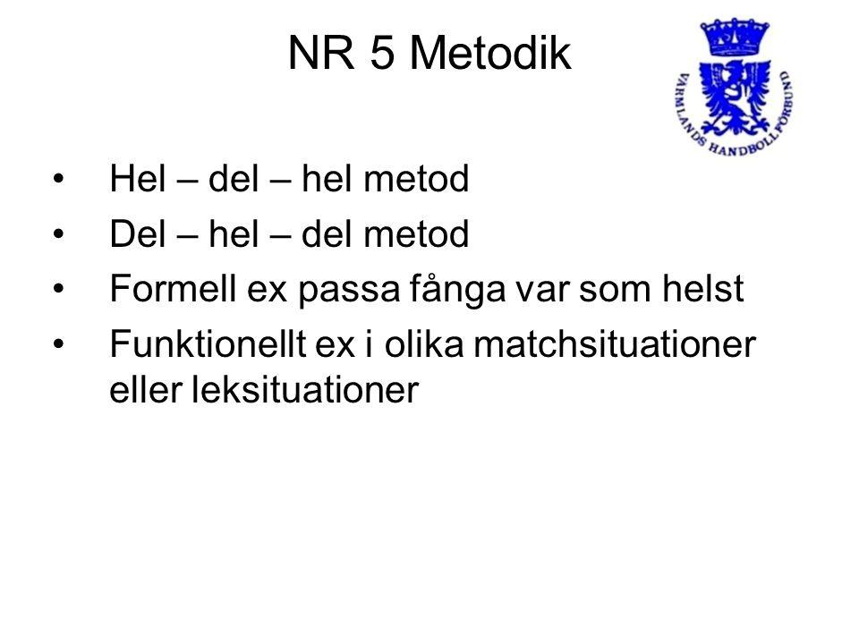 NR 5 Metodik Hel – del – hel metod Del – hel – del metod