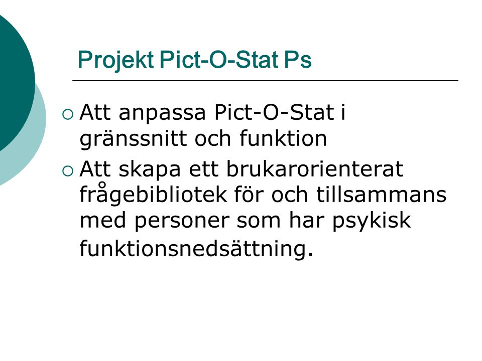 Projekt Pict-O-Stat Ps
