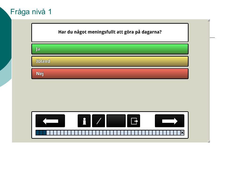 Fråga nivå 1