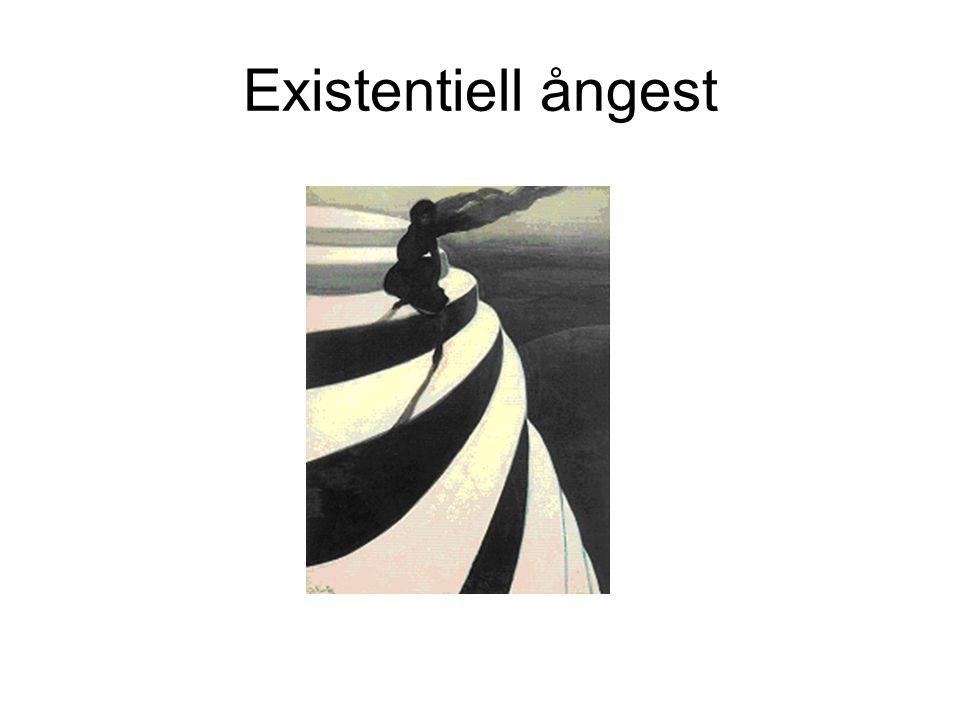 Existentiell ångest