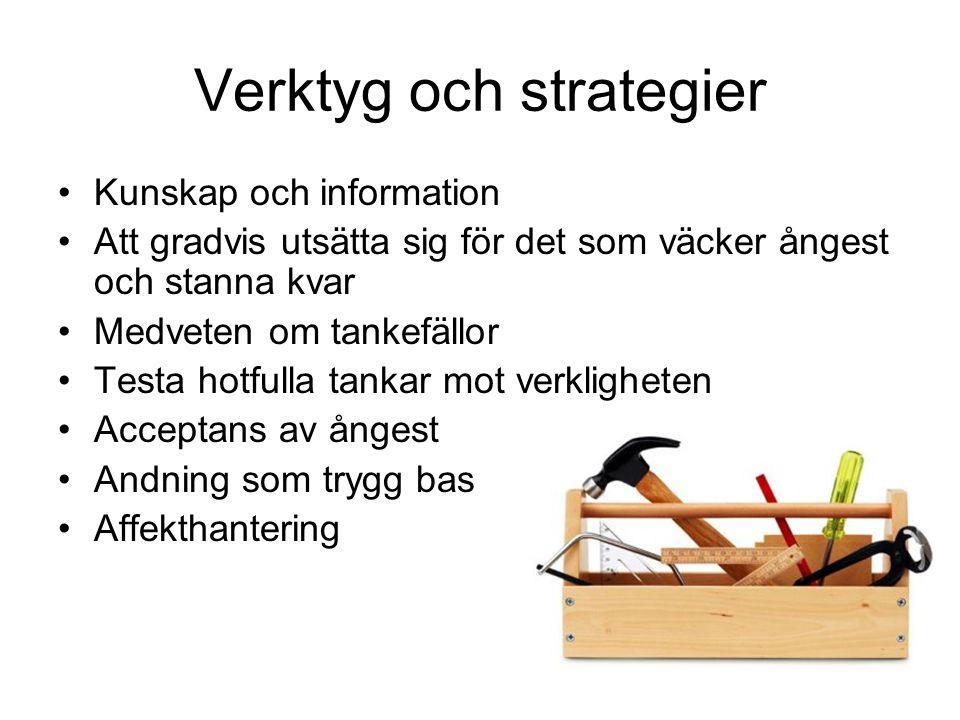 Verktyg och strategier