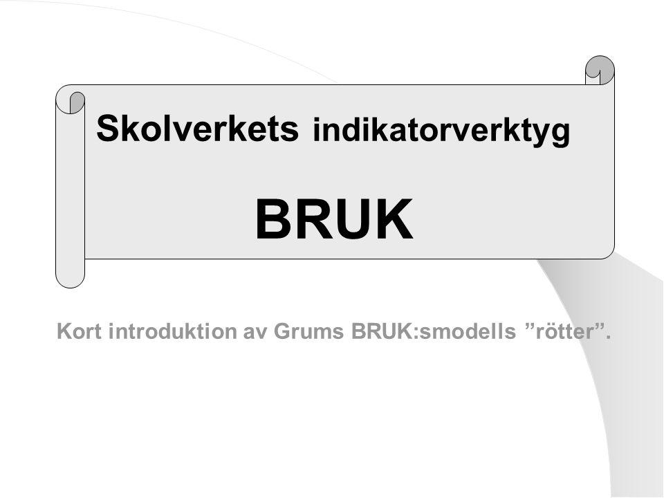 BRUK Skolverkets indikatorverktyg
