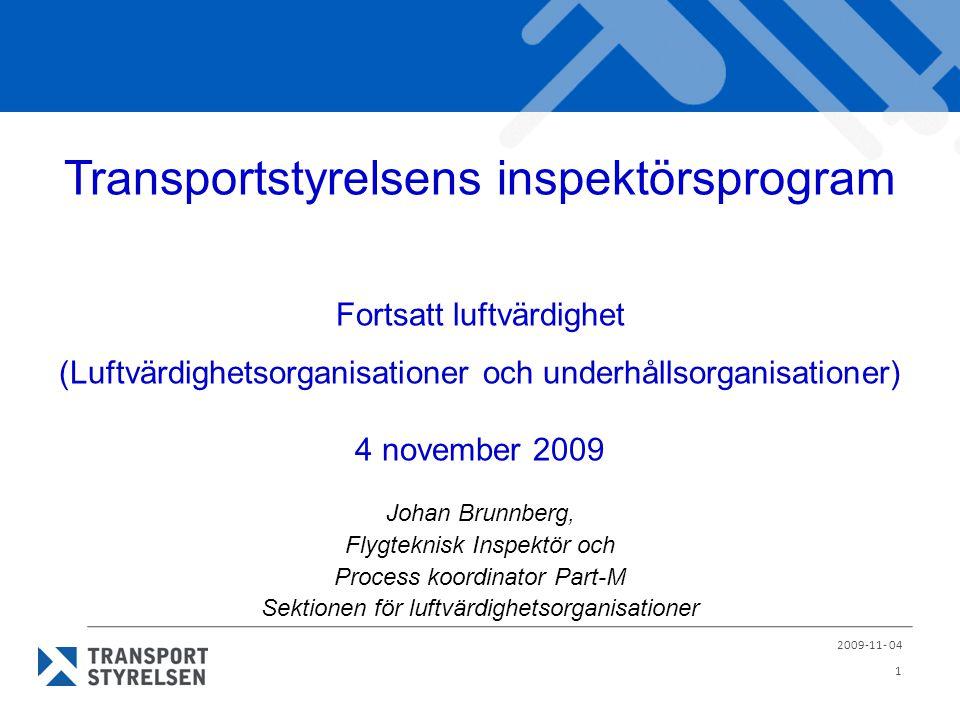Transportstyrelsens inspektörsprogram