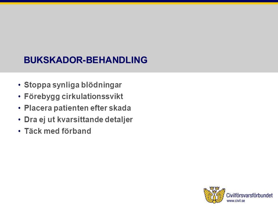 BUKSKADOR-BEHANDLING