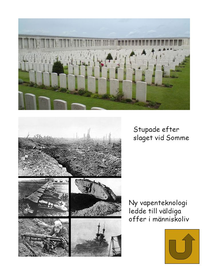 Stupade efter slaget vid Somme