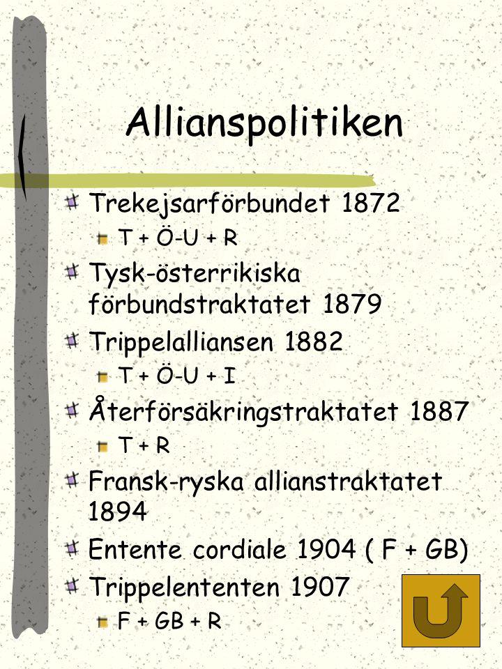 Allianspolitiken Trekejsarförbundet 1872