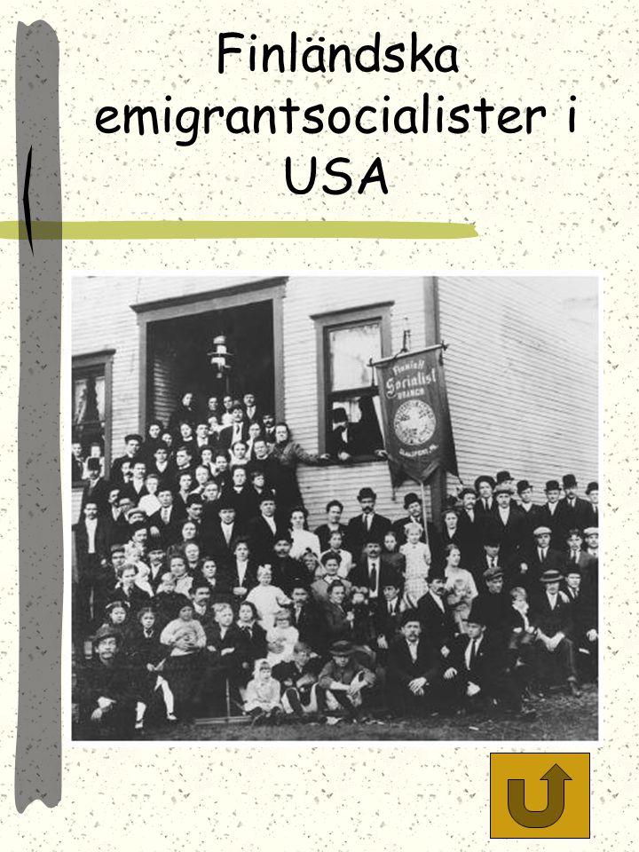 Finländska emigrantsocialister i USA