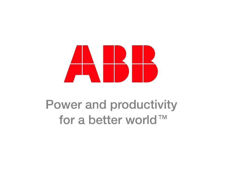 © ABB Group April 7, 2017 | Slide 62