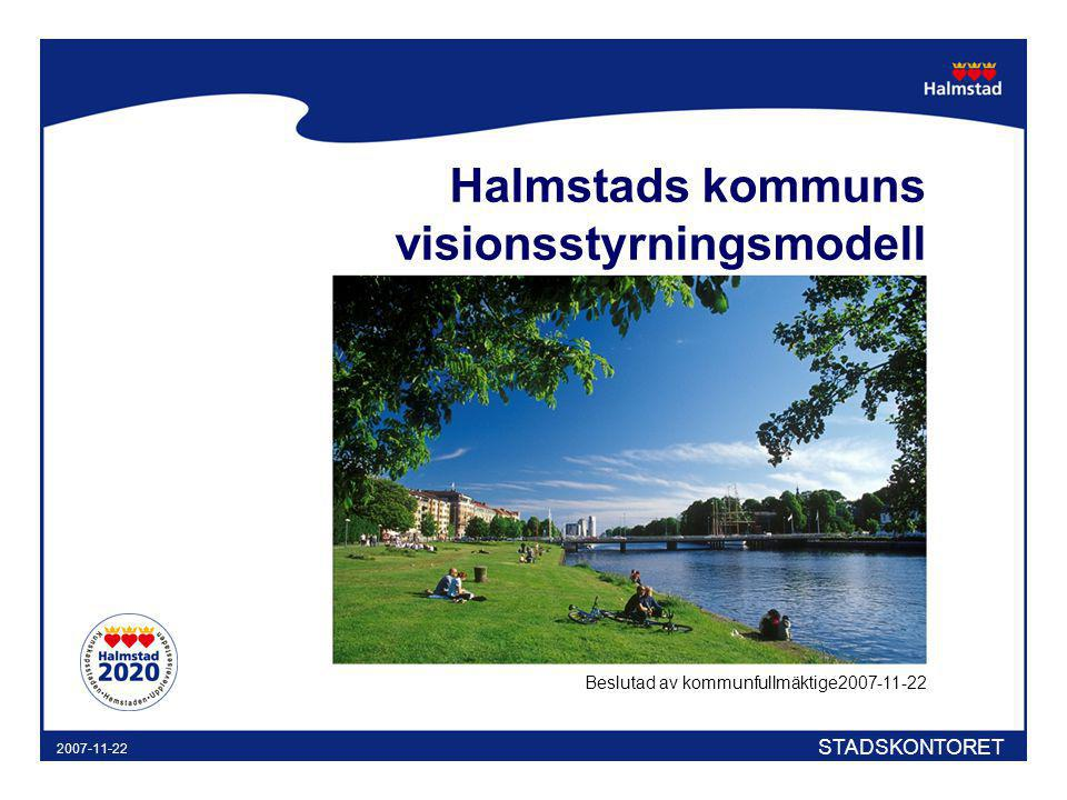 Halmstads kommuns visionsstyrningsmodell