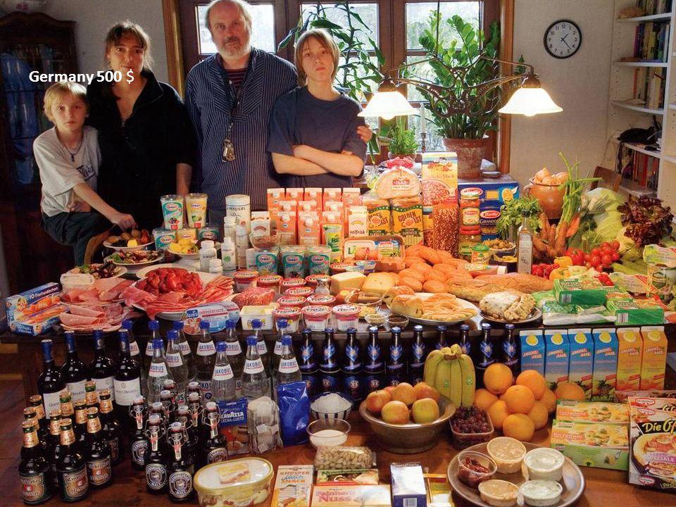 Germany 500 $ Tyskland Matlagningsmetod: elspis, mikrovågsugn