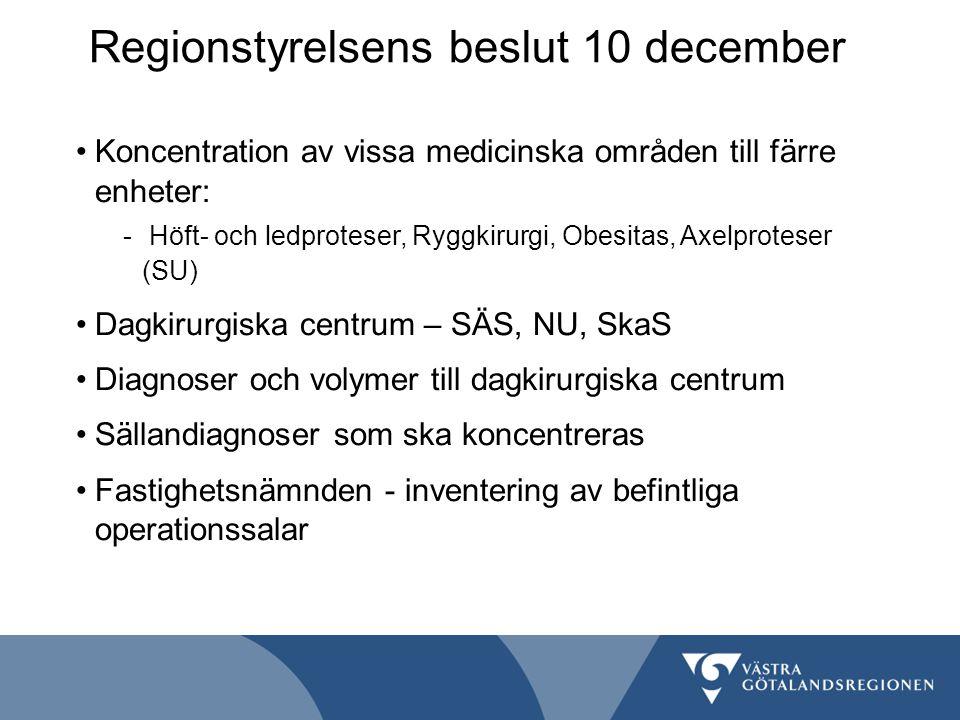 Regionstyrelsens beslut 10 december